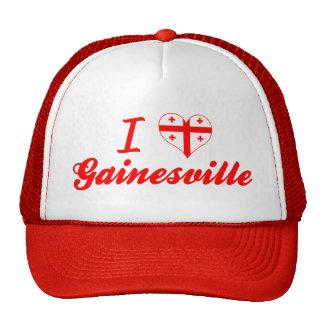 I Love Gainesville, Georgia Mesh Hat