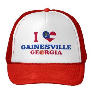 I Love Gainesville, Georgia Mesh Hats