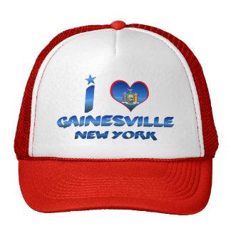 I love Gainesville, New York Hat