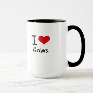 I Love Gains Mug