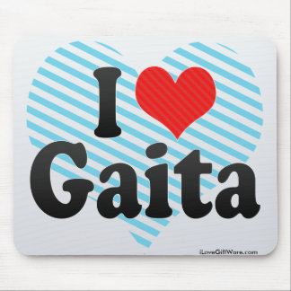 I Love Gaita Mouse Pad