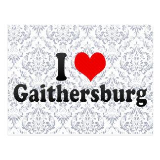 I Love Gaithersburg, United States Postcard