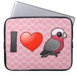I Love Galahs (crest down) Laptop Sleeve