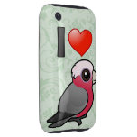 I Love Galahs (crest down) Tough iPhone 3 Cases