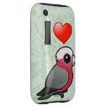 I Love Galahs (crest down) Tough iPhone 3 Cases