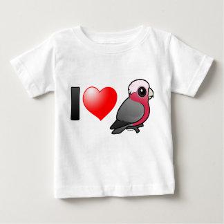 I Love Galahs (crest down) Infant T-shirt