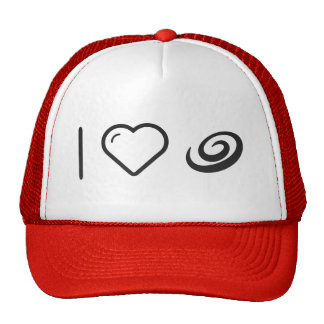 I Love Galaxy Ways Trucker Hat