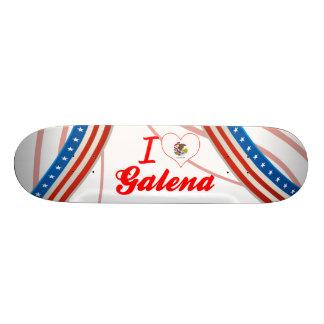 I Love Galena, Illinois Skate Board