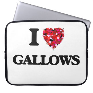 I Love Gallows Computer Sleeves