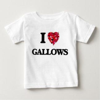 I Love Gallows Tee Shirts