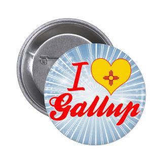 I Love Gallup, New Mexico Pin
