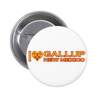 I Love Gallup, NM Pins