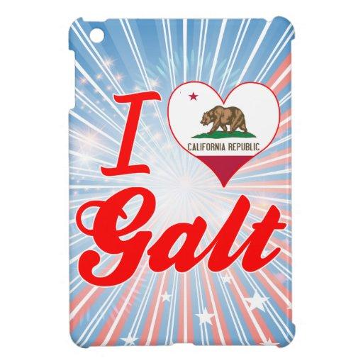 I Love Galt, California Case For The iPad Mini