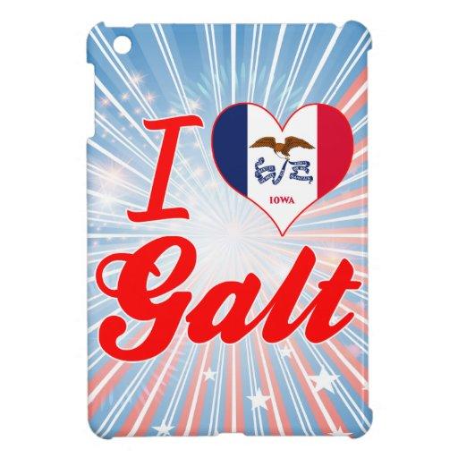I Love Galt, Iowa iPad Mini Case