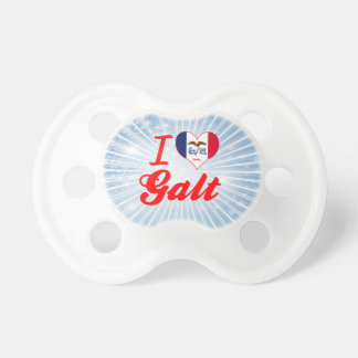 I Love Galt Iowa Baby Pacifiers