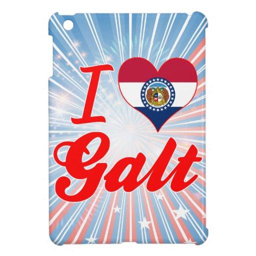 I Love Galt, Missouri iPad Mini Covers