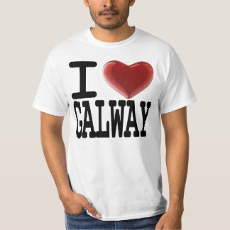 I Love GALWAY T Shirt