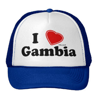 I Love Gambia Trucker Hat
