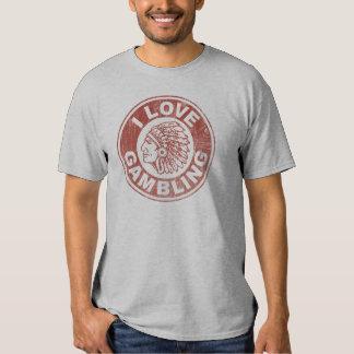 I Love Gambling Tee Shirt