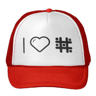 I Love Game Puzzles Trucker Hat