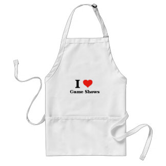 I Love Game Shows Adult Apron