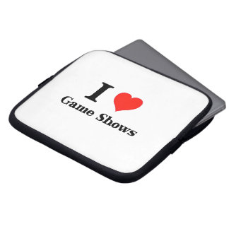 I Love Game Shows Laptop Sleeve