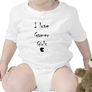 I love gamer girls baby bodysuit