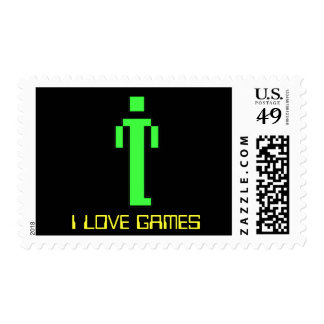 I Love Games Postage