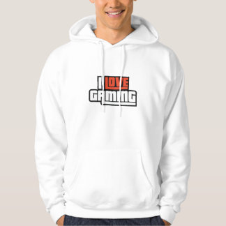 I Love Gaming Hooded Sweatshirt