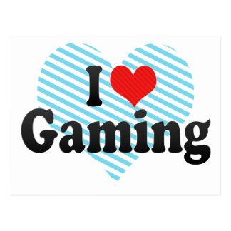 I Love Gaming Post Card