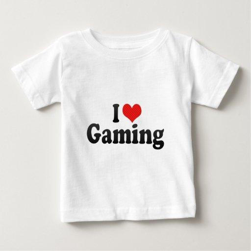 I Love Gaming T-shirts