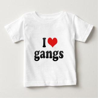 I Love gangs Baby T-Shirt