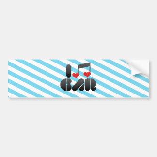 I Love Gar Bumper Stickers