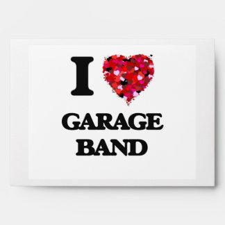 I love Garage Band Envelope