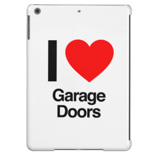 i love garage doors iPad air covers