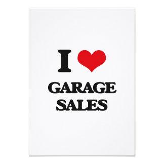 I love Garage Sales 5x7 Paper Invitation Card