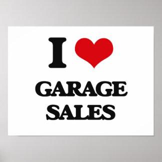 I love Garage Sales Posters
