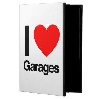 i love garages iPad air case