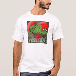 I Love Garbage Truck Greens Mens T-Shirt