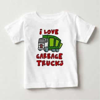 I LOVE GARBAGE TRUCKS!! Garbage Trucks for Kids!! Baby T-Shirt