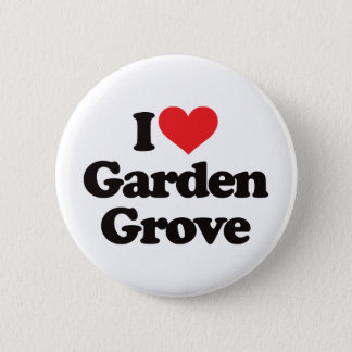 I Love Garden Grove Pinback Button