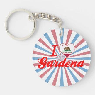 I Love Gardena, California Key Chains