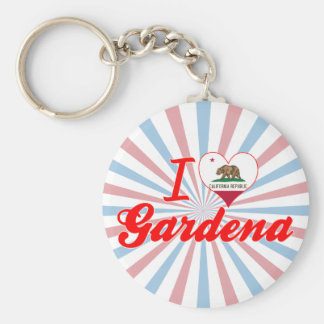 I Love Gardena, California Keychain