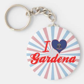 I Love Gardena, North Dakota Keychains