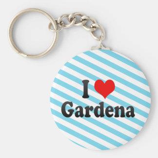 I Love Gardena, United States Keychains