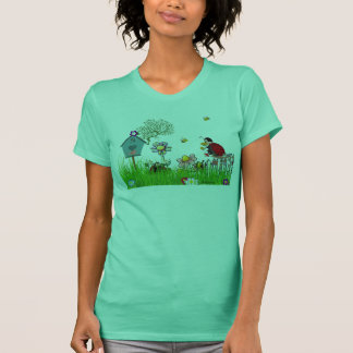 I Love Gardening Ladies Tee Shirt