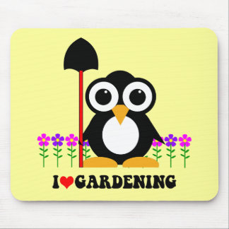 I love gardening mouse pad