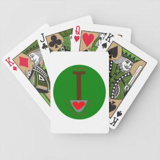 I Love Gardening Playing Cards