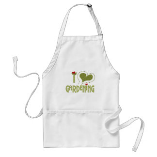 I Love Gardening Tshirts and Gifts Aprons