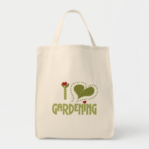 I Love Gardening Tshirts and Gifts Bags